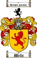 Thumbnail Wells Family Crest / Wells Coat of Arms
