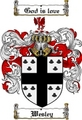 Thumbnail Wesley Family Crest  Wesley Coat of Arms