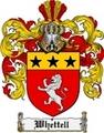 Thumbnail Whettell Family Crest  Whettell Coat of Arms