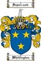 Thumbnail Whittington Family Crest  Whittington Coat of Arms