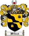 Thumbnail Witlock Family Crest  Witlock Coat of Arms