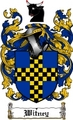 Thumbnail Witney Family Crest  Witney Coat of Arms