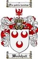 Thumbnail Wodehull Family Crest  Wodehull Coat of Arms