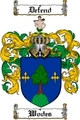 Thumbnail Wodes Family Crest  Wodes Coat of Arms