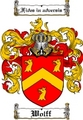 Thumbnail Wolff Family Crest  Wolff Coat of Arms