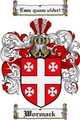 Thumbnail Wormack Family Crest  Wormack Coat of Arms