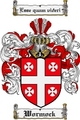 Thumbnail Wormock Family Crest  Wormock Coat of Arms
