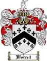 Thumbnail Worrell Family Crest  Worrell Coat of Arms
