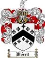 Thumbnail Worril Family Crest  Worril Coat of Arms