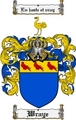 Thumbnail Wraye Family Crest  Wraye Coat of Arms