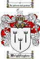 Thumbnail Wrightington Family Crest  Wrightington Coat of Arms
