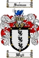 Thumbnail Wyll Family Crest  Wyll Coat of Arms