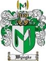 Thumbnail Wyngke Family Crest  Wyngke Coat of Arms