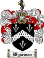 Thumbnail Wyseman Family Crest  Wyseman Coat of Arms