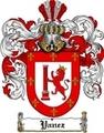 Thumbnail Yanez Family Crest  Yanez Coat of Arms