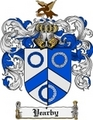 Thumbnail Yearby Family Crest  Yearby Coat of Arms