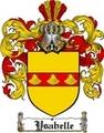 Thumbnail Ysabelle Family Crest  Ysabelle Coat of Arms