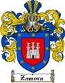 Thumbnail Zamora Family Crest  Zamora Coat of Arms