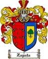 Thumbnail Zapata Family Crest  Zapata Coat of Arms