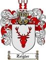 Thumbnail Zeigler Family Crest  Zeigler Coat of Arms