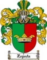Thumbnail Zepeda Family Crest  Zepeda Coat of Arms