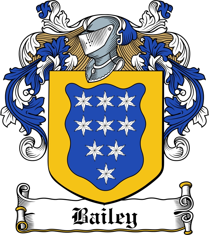 Pay for Bailey Family Crest / Irish Coat of Arms Image Download