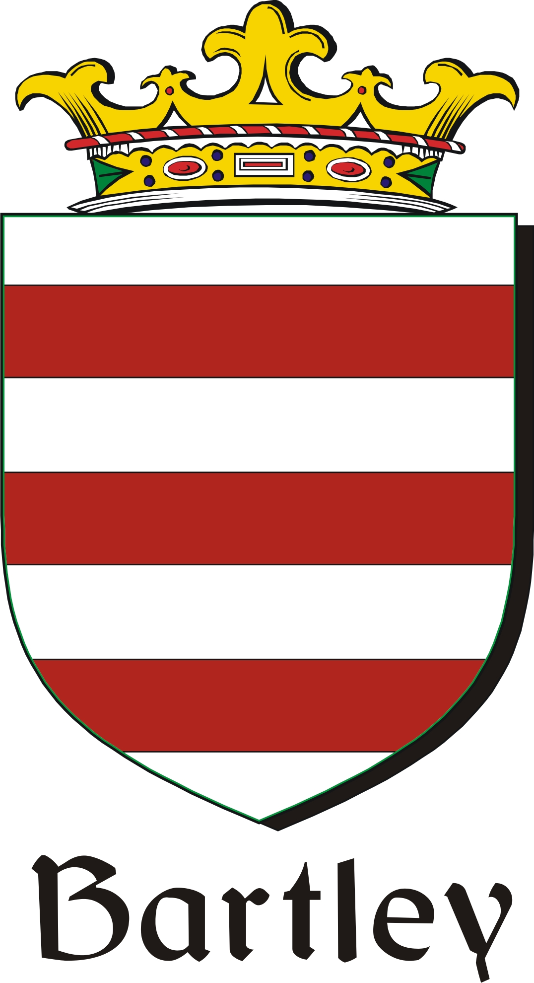 Pay for Bartley Family Crest / Irish Coat of Arms Image Download