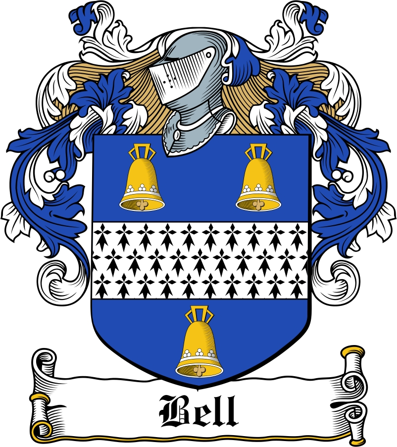 Bell Family Crest Irish Coat Of Arms Image Download Download Fa