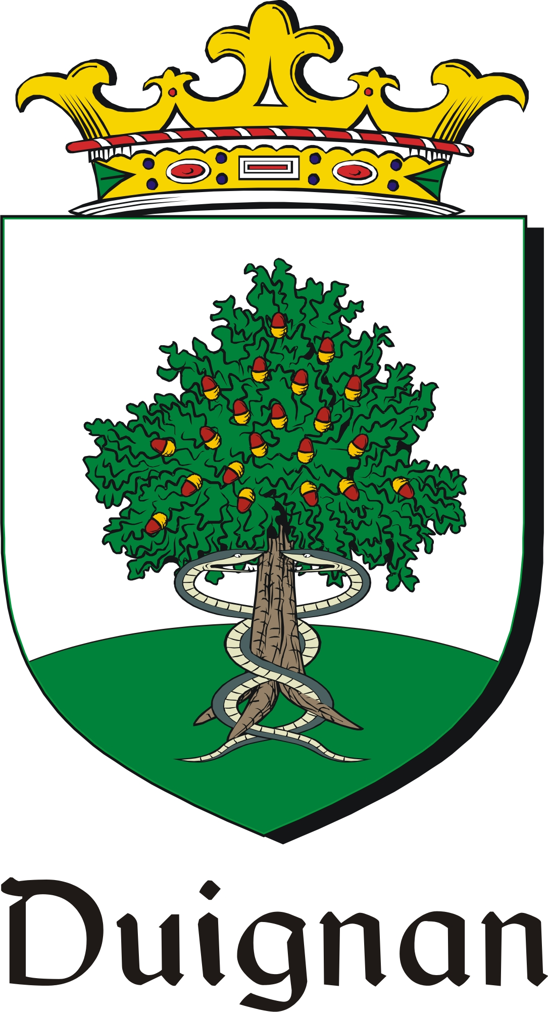 Pay for Duignan Family Crest / Irish Coat of Arms Image Download