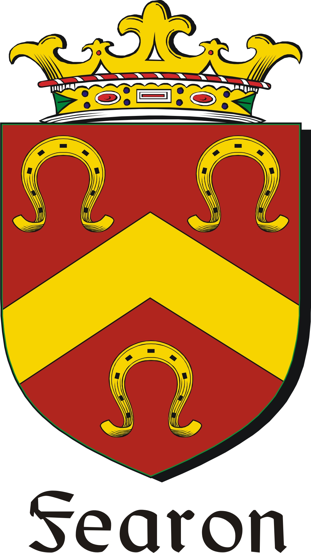 Pay for Fearon-2 Family Crest / Irish Coat of Arms Image Download