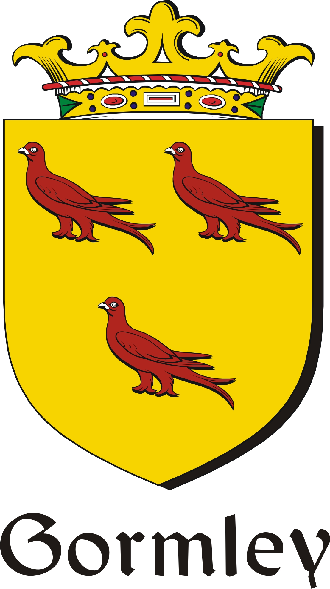 Pay for Gormley Family Crest / Irish Coat of Arms Image Download