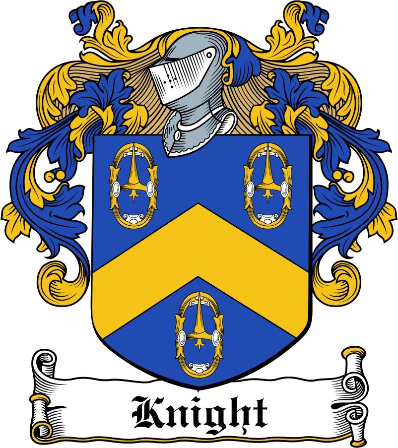 Pay for Knight Family Crest / Irish Coat ...