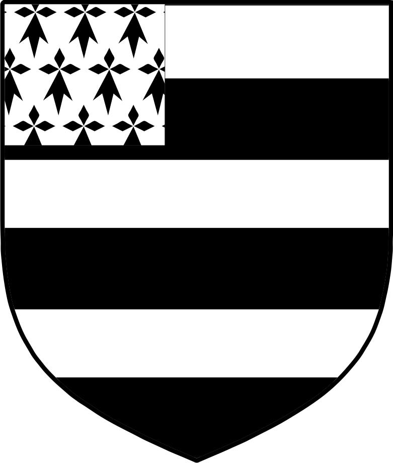 Black family coat of arms irish
