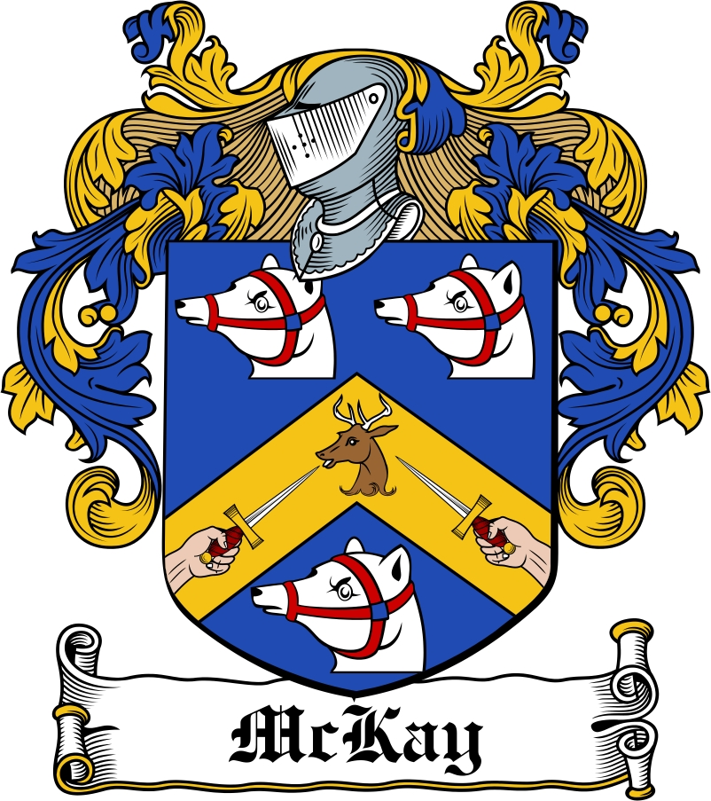 Mckay Family Crest Irish Coat Of Arms Image Download Download F