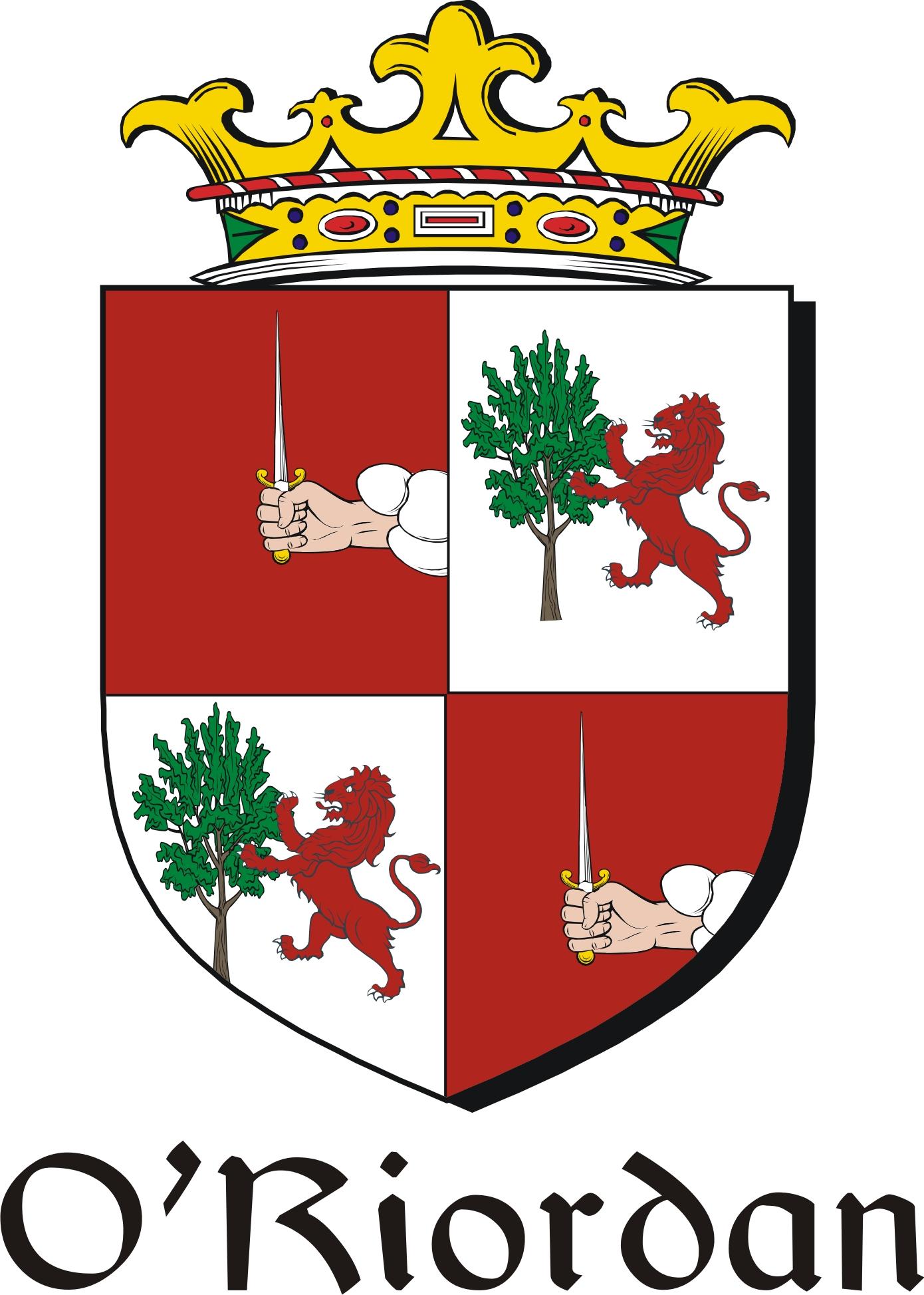 riordan  irish coat of arms image download