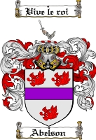 Pay for Abelson Family Crest  Abelson Coat of Arms