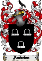 Pay for Anderton Family Crest  Anderton Coat of Arms