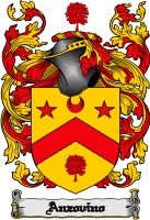 Pay for Anzovino Family Crest  Anzovino Coat of Arms