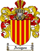 Pay for Aragon Family Crest  Aragon Coat of Arms