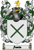 Pay for Assis Family Crest  Assis Coat of Arms