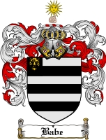 Pay for Babe Family Crest  Babe Coat of Arms