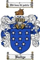 Pay for Ballye Family Crest  Ballye Coat of Arms