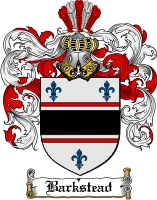 Pay for Barkstead Family Crest  Barkstead Coat of Arms