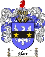 Pay for Barr Family Crest / Barr Coat of Arms