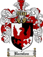 Pay for Barston Family Crest Barston Coat of Arms Digital Download