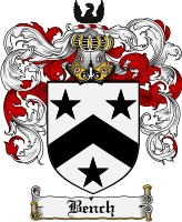 Pay for Bench Family Crest Bench Coat of Arms Digital Download