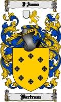Pay for Bertram Family Crest  Bertram Coat of Arms