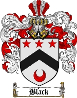 Pay for Black Family Crest / Black Coat of Arms