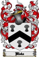 Pay for Blake Family Crest / Blake Coat of Arms