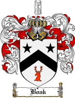 Pay for Boak Family Crest  Boak Coat of Arms